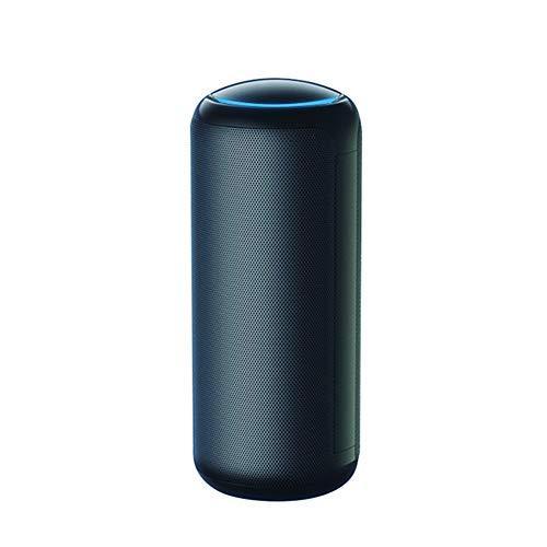 BCAH Purificador De Aire PortáTile, Hepa Filtro Alimentado por USB Cable para Escritorio Oficina, Eliminar Alergias, Humo, Olor,Negro