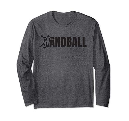 Handball - Design für Handballspieler & Handball Trainer Langarmshirt