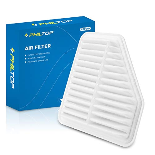PHILTOP Engine Air Filter, Replacement for CA10169 GP169 MT-169 Camry, Corolla, RAV4, Matrix, Venza, Avalon, tC, xB, ES350, Vibe, Pack of 1