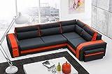 Mirjan24 Ecksofa Assan, Eckcouch mit Bettkasten und Schlaffunktion, Couch Couchgarnitur, Design Schlafsofa, Polsterecke (Ecksofa Rechts, Inari 100 + HC51) - 2