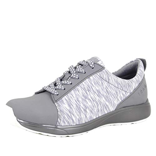 TRAQ BY ALEGRIA Qest Womens Smart Walking Shoe Grey 7 M US