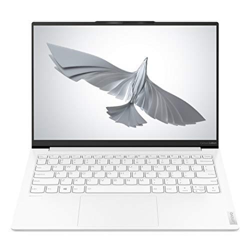 Lenovo Yoga Slim 7 Carbon 11th Gen Intel Core i7 13.3″ (33.78cm) QHD IPS Ultra-Light & Thin Laptop (16GB/1TB SSD/Windows 10/MS Office/Intel Iris Xe GFX/Carbon Fiber/Moon White/0.96 Kg), 82EV003WIN