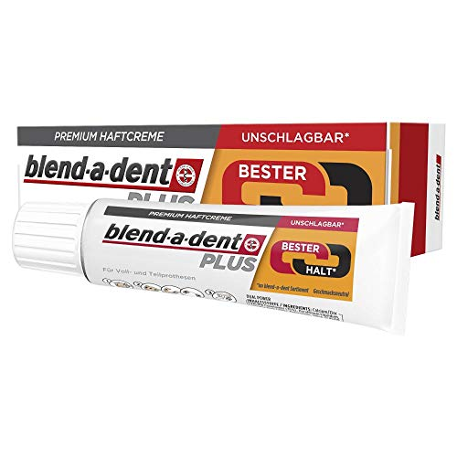 Blend-a-dent Plus Bester Halt Premium Haftcreme, 40g