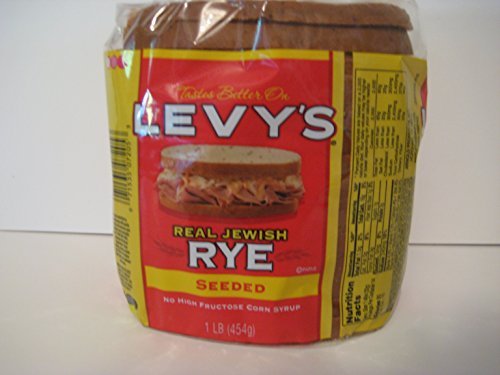 Levy's Real Jewish Rye Seeded Bread, 1 Pound!
