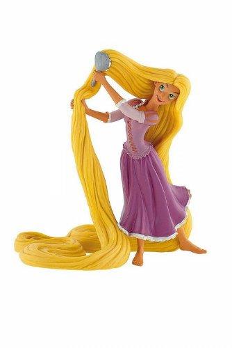 Bullyland 12418 - Spielfigur, Walt Disney Rapunzel mit Kamm, ca. 11,5 cm