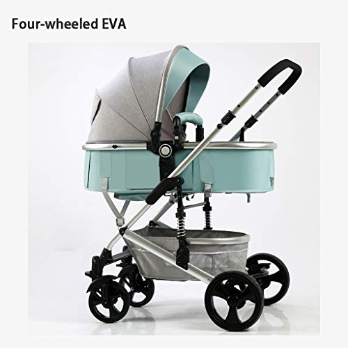 Learn More About STRR Baby Stroller, Convertible Reclining Stroller, Foldable and Portable Pram Carr...