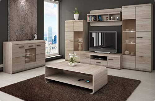 Living room furniture set, Lucano, TV unit
