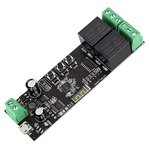 Modulo interruttore a relè wireless Modulo a 2 canali Smart Antifinting Controller per il telecomando