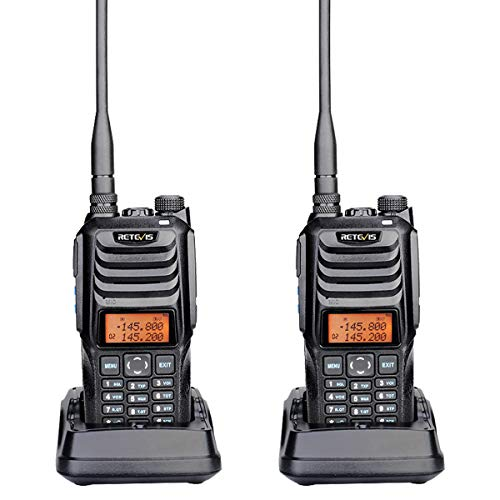 Retevis RT56 Walkie Talkies for Adults,Explosion-Proof,Sturdy, Remote Alarm,Two Way Radios for Gas Station,Fire Department,Chemical Plant (2 Pack)