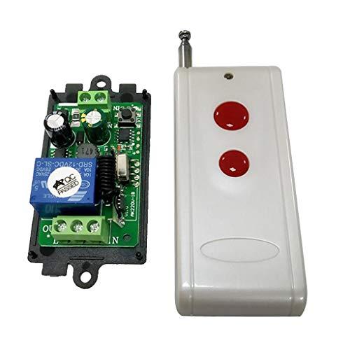 SM SunniMix Commutateur de Télécommande sans Fil 433mhz - 2 Voie
