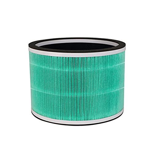 El filtro de aire es adecuado para el cartucho de filtro de ventilador de purificador de aire Dyson HP03 / HP00 / DP03 / DP01 Filtro de purificador de aire Accesorios de reemplazo ( Color : Green )