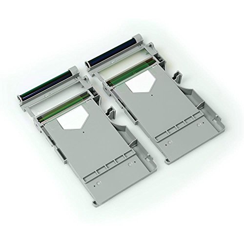 Pickit Printer Replacement Cartridge Set - 2 Cartridges with 10 Prints Each - Compatible with PICKIT20, PICKIT21RD, PICKIT22BK and PICKIT M2 - SereneLife PRTPICKET22 Gray