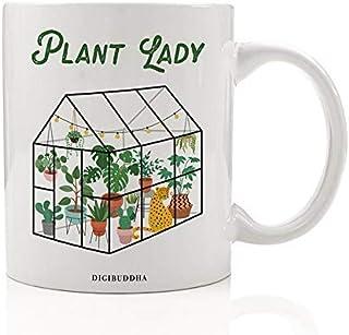 3922edbb892 Gardening Plant Lady Coffee Mug Gift Idea Flower Vegetable Landscaper  Greenhouse Indoor Outdoor Gardener Christmas Holiday