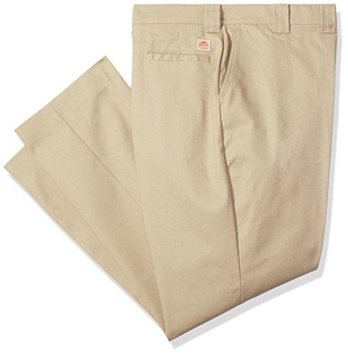 Red Kap Men's Utility Uniform Pant, Khaki, 34x32