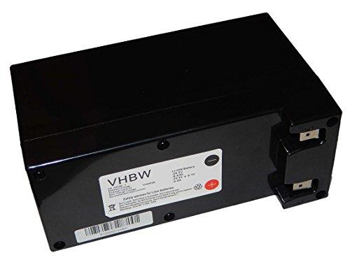 Batterie Li-ION vhbw 6900mAh (25.2V) pour aspirateur, Tondeuse Robot Ambrogio L200 Evolution, L300. Remplace: Zucchetti CS-C0106-1.