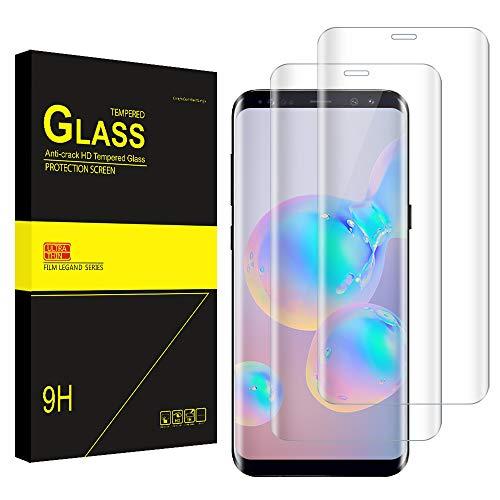 Bodyguard [2 Stück] Panzerglas Schutzfolie für Samsung Galaxy S9, 9H Härte Glasfolie, HD Klar Displayschutz, Kratzen, Anti-Öl, Blasenfrei Displayschutzfolie für Samsung S9
