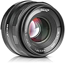 Meike MK-35mm F1.4 Large Aperture Wide Angle Lens Manual Focus Lens Works with Fuji X Mount Mirrorless Cameras X-T3 X-T30 X-Pro2 X-E3 X-T1 X-T2 X-T10 X-T20 X-100F X-T100 X-E1 X30 X-A1 X-S10 X-T4,etc