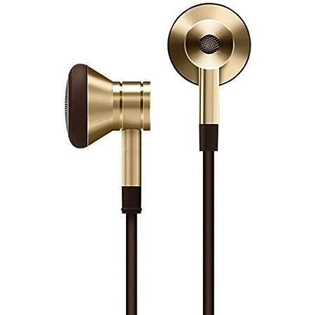 1MORE ピストン シングルドライバ イヤーバンド イヤホン 重低音 ステレオ インイヤー型イヤホン 有線 リモコン・マイク付 iPhone/iPad/iPod/Android Smartphoneなどに対応 EO320 (ゴールド)