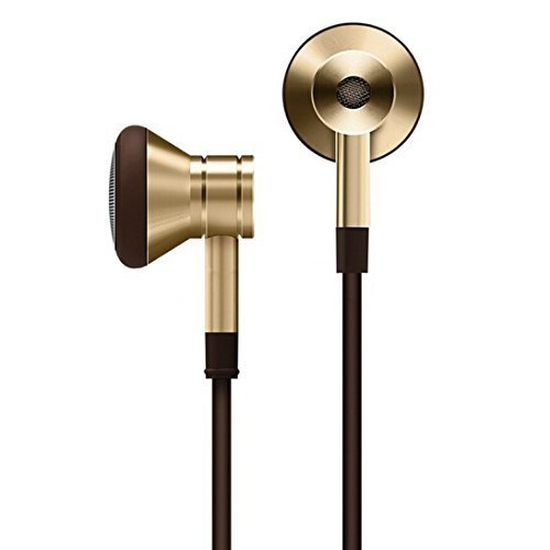 1MORE Piston Earbud EO320 - Auriculares In-Ear con micrófono/Remoto para Apple iOS y Android, color Dorado