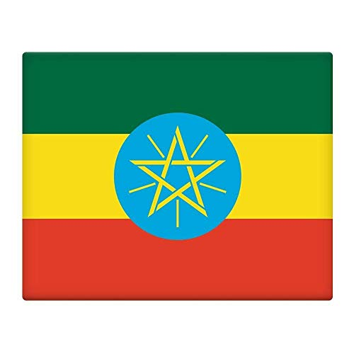 Ethiopië Vlag 7X10