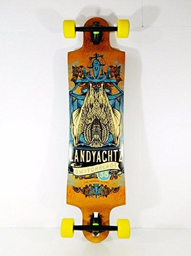 Landyachtz 9.8 x 38 Switchblade 38 Downhill/Freeride Series Longboard Complete by Landyachtz