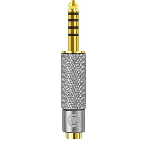 Geekria Apollo Adapter 4,4 mm männlich auf 3,5 mm weiblich, symmetrisch, vergoldet, für Sony NW-ZX300A, NW-WM1A, NW-WM1Z, PHA-2A, TA-ZH1ES Audio-Player, DAP