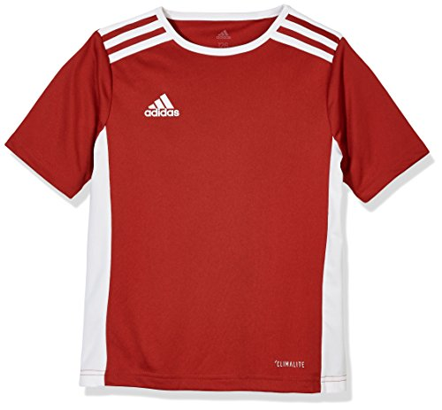 adidas Kinder Entrada 18 Jersey Trikot, Power red/White, 128