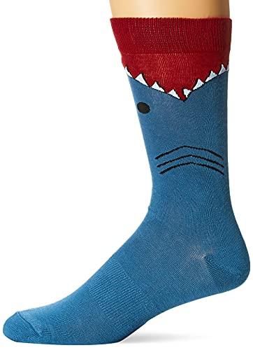 K. Bell Socks mensLeg Eating Animal Novelty Crew Socks Casual Sock
