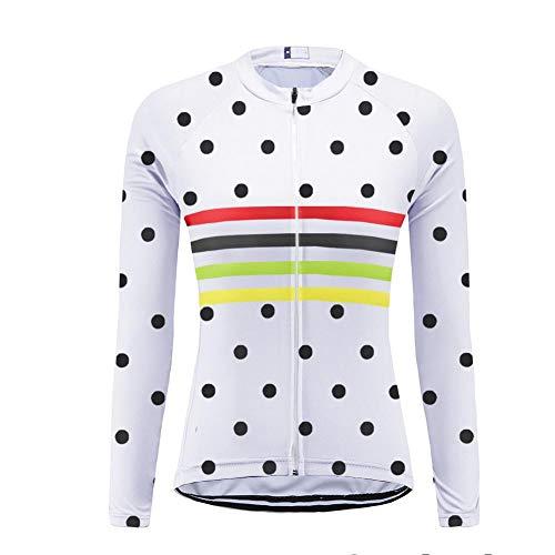 Uglyfrog Bike Wear Maillot de Ciclismo/Mujer Mangas Largas Bodies Ropa para Bicicleta 3D Cojín Conjunto Bici de Montaña Chaqueta+Pantalones Culote de Ciclista Largo Transpirable para Otoño, XS-6XL