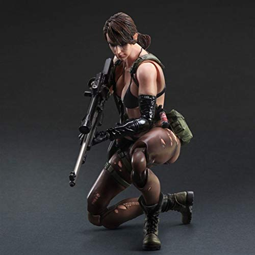 XQ Metal Gear Solid V: The Phantom Pain Quiet Atcion Figura from Play Arts Kai Multicolor