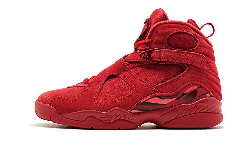 Jordan Wmns Air 8 Retro Vday, Zapatillas de Deporte Mujer, Multicolor (Gym Red/Ember Glow T 614), 40 EU