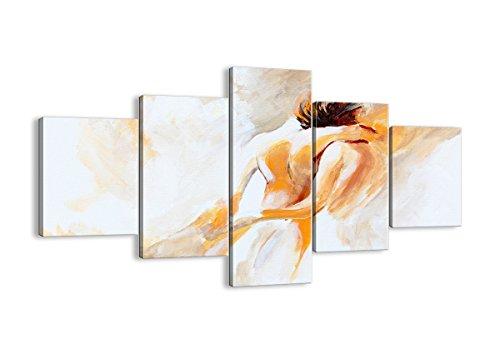 ARTTOR Cuadros Modernos Baratos - Lienzos Decorativos - Cuadros Decoracion Salon - Tríptico De Pared - Muchos Tamaños y Varios Temas Gráficos - EA125x70-3168