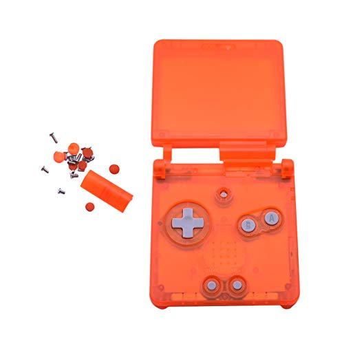 Xingsiyue Ersatz Transparent Klar Voll Gehäuse Shell Hülle Reparatur Teile für Nintendo Gameboy Advance SP GBA SP Console