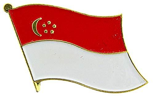 Singapur Flagge Patch & Pin Pin
