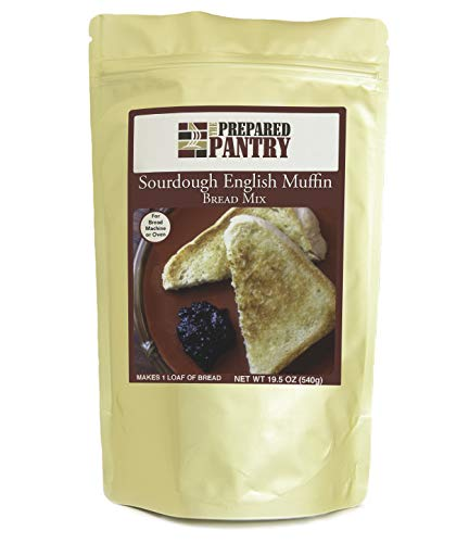The Prepared Pantry Sourdough English Muffin Bread Mix; Single Pack; For Bread Machine or Oven