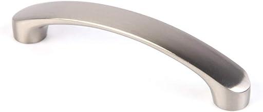MooUK - Manilla de puerta de armario de acero inoxidable, 12