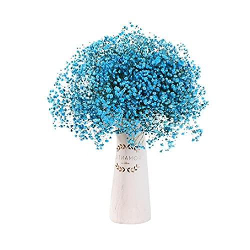 BullBallBoll 70 cm natural Gypsophila flores secas bebé aliento flores plantas ramos para decoración del hogar foto accesorios decoración boda artificial gypsophila flor