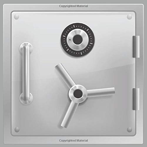 Safe Storage Book: Password Organizer Logbook With Alphabetical Tabs - Premium Design: Safe Box - Large Print (Password Logbooks Series)