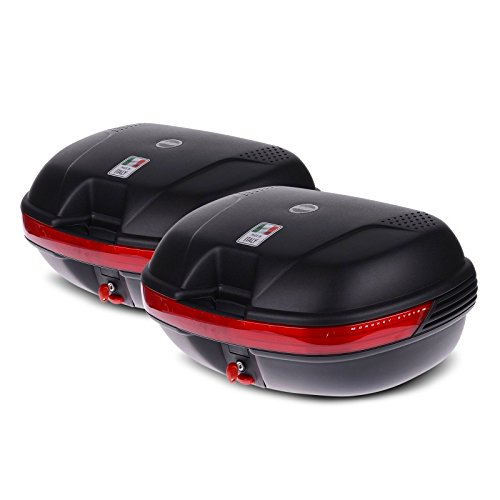 Maletas laterales para Honda Transalp XL 650 V 00-07 Givi Monokey E360N negro