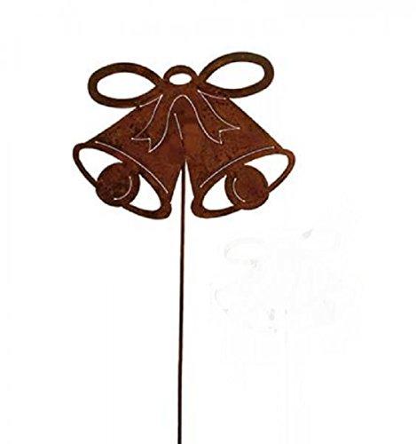 Ruggine Giardino Spina/spina pentola di Natale campana 50cm