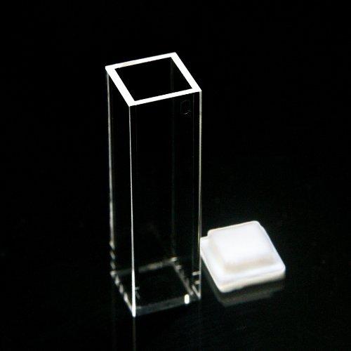 Fluorescence Quartz Cuvette,10mm, Open Top, Fully Fused