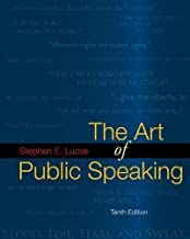 By Stephen Lucas: The Art of Public Speaking with Connect Lucas Tenth (10th) Edition