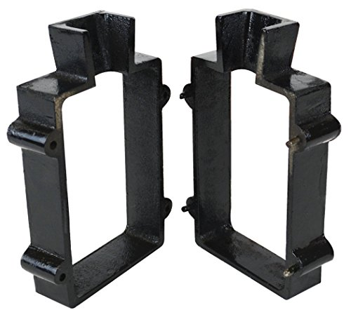 Cast Iron 2-Piece Flask Mold Frame for Sand Casting Jewelry Metal Casting Making Tool