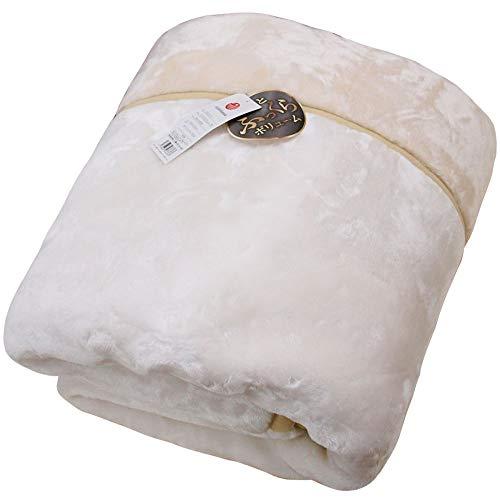 2枚合わせ オーロラ毛布 超ボリューム ダブル