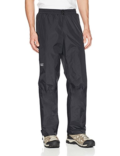 Jack Wolfskin Men's Cloudburst Pants, XX-Large, Black