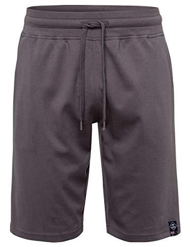 ROADSIGN Australia Herren Sweat-Bermuda mit Hosentaschen grau   XL