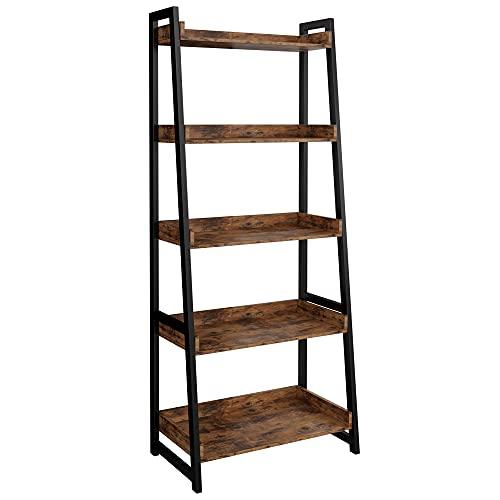 IRONCK Industrial Bookshelf 5-Ti...