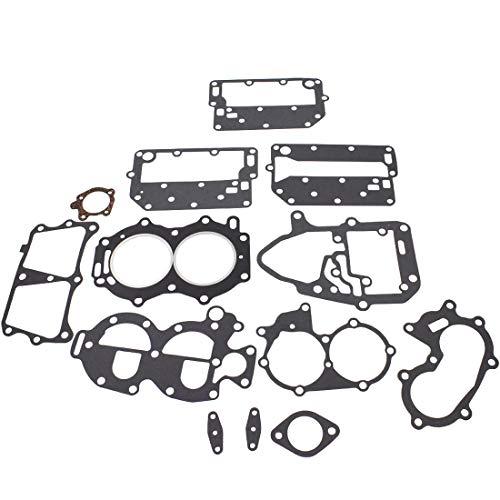 WFLNHB Engine Kit Gasket Sets Fit for Powerhead Johnson/Evinrude 25 35HP 2 Cylinder 433941 18-4307