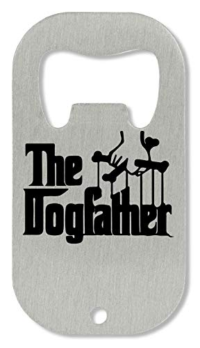 The Dogfather Logo Abrebotellas