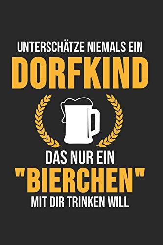 5 Bier in der Stadt: Alkoholiker 5 Bier auf dem Dorf: Fahrer: Landwirt & Bauer Notizbuch 6'x9' Kalender Geschenk für Dorfkind & Traktor Liebhaber